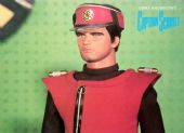 Captain Scarlet - 'Captain Scarlet in the Cloudbase  Control Room' Postcard